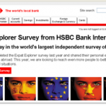 Expat survey de HSBC