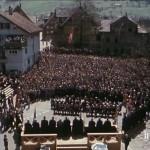 La Landsgemeinde ou vote à main levée en Suisse