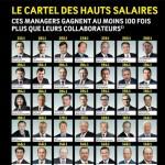 Le classement des dirigeants en Suisse qui gagnent au moins 100 fois plus que leurs collaborateurs