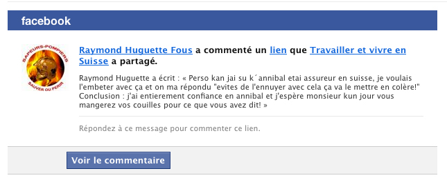 Commentaires Bonnets rouges frontaliers Facebook