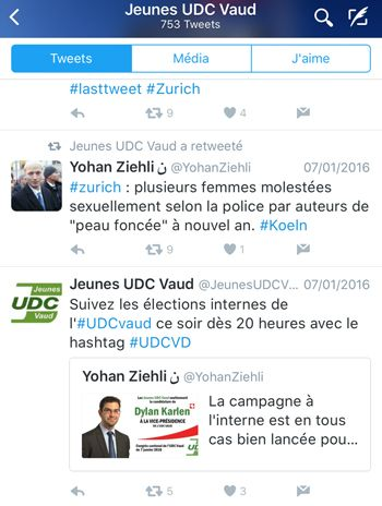 UDC Vaux Twitter
