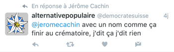 Alternative populaire Twitter