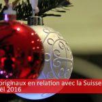Idées de cadeau de Noël pour la Suisse