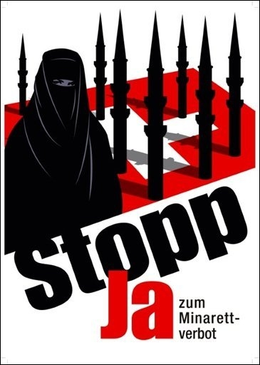 affiches anti-minarets en suisse   un cas d u0026 39  u00e9cole