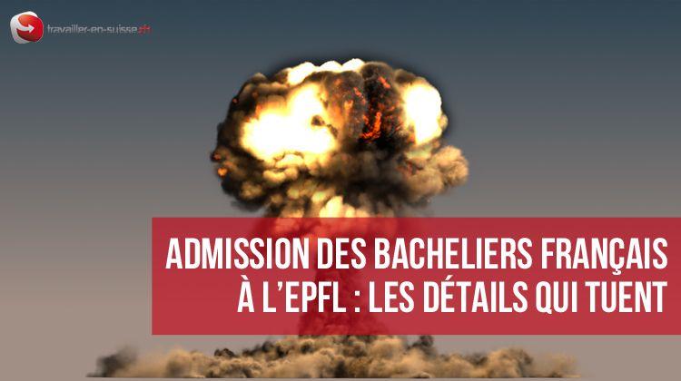 Admission des bacheliers français à l'EPFL